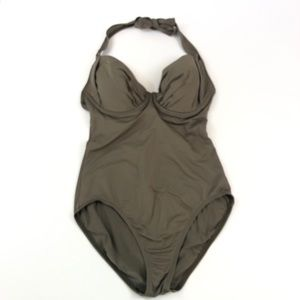 Tommy Bahama Sunkissed Underwire 1 Piece Swimsuit